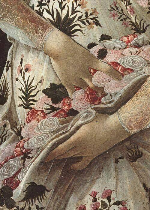 Botticelli-part. de La Primavera