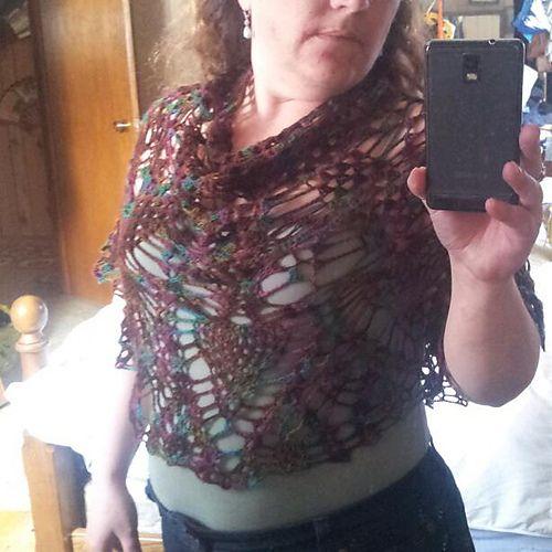 crochet starburst cape Ravelry: tamsin5's The B & F Starburst cape