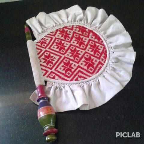A Punjabi Hand Fan Ladies Know Very Well How To Make It