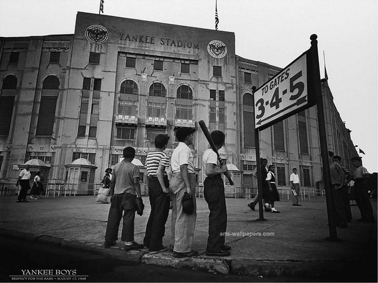 Off yankee boys 39 x 31 print reproduction by amanti art remember the good ol days with this timeless photo of yankee boys this art piece is great for