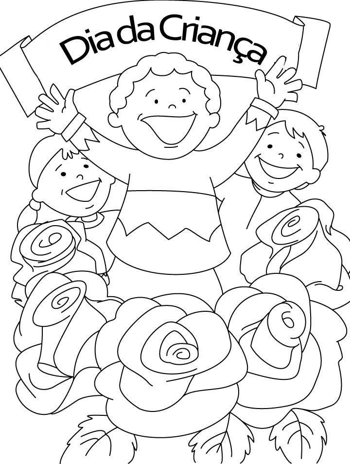 Childrens Day Coloring 5 Jpg 720 954 Atividade Dia Das