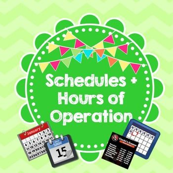 Life Skills Reading: Hours of Operation and SchedulesThank you so much for your interest in my product!You will get 15 images of actual store hours of operation and other randomly selected schedules as well (ex: YMCA swim times, bus schedules, etc.). Then, there are 5 follow up comprehension questions for EACH picture.That is a total of 75 real-world comprehension questions!!!Your kids will absolutely love this and you will too.
