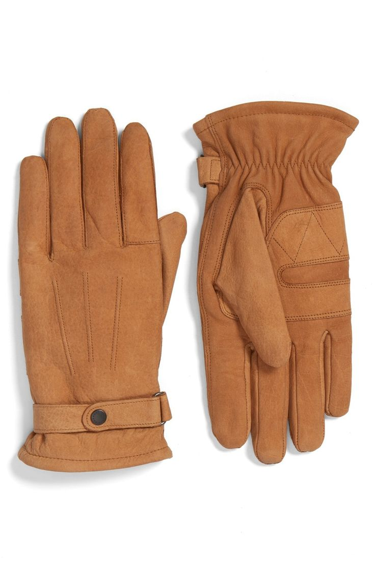 Barbour black leather utility gloves - Barbour Leather Gloves Available At Nordstrom