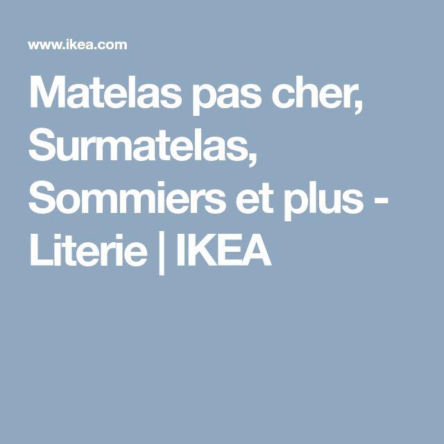 Matelas pas cher, Surmatelas, Sommiers et plus - Literie   IKEA
