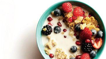 Today's Breakfast: Maple Millet Cereal