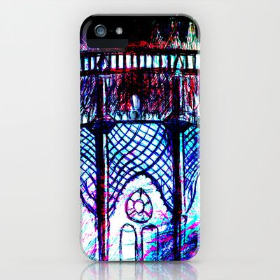 window box Brighton Pavilion iPhone & iPod Case by seb mcnulty - $35.00
