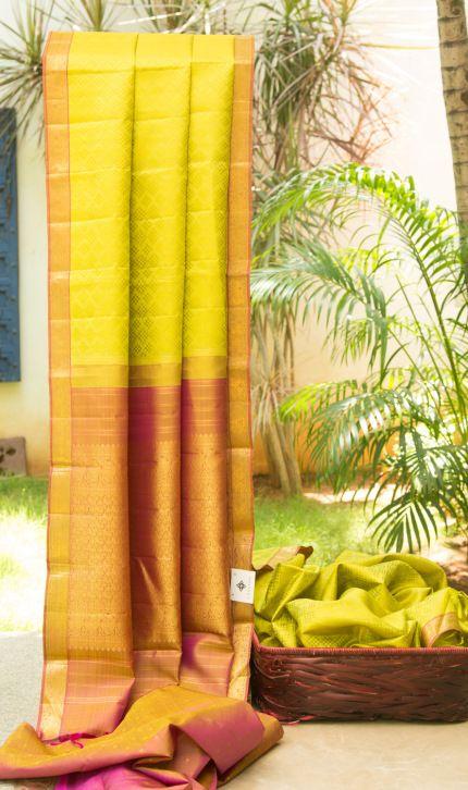 Kanchivaram Silk L02752 | Lakshmi