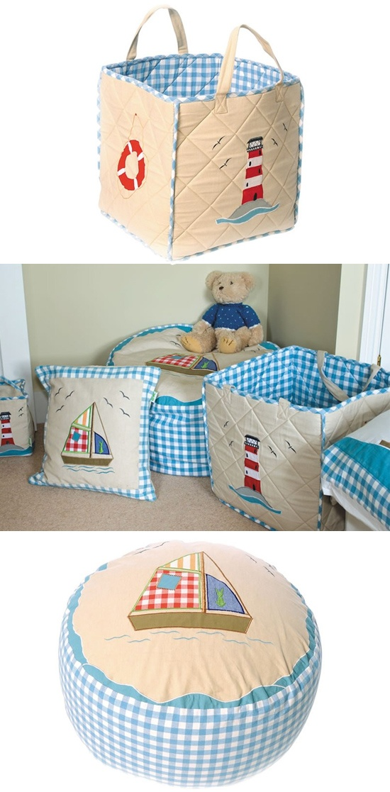 little sailor's bedroom or playroom at kidsrooms