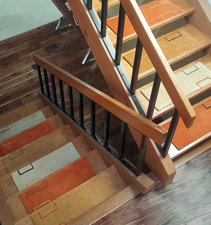 Handmade Rugs For Stairs U0026 Floors. Alto Steps Are Stair Tread Rugs, The  Smart Alternative To Stair Runners.
