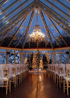 If I were to do an indoor wedding it would certainly be in a place like this.