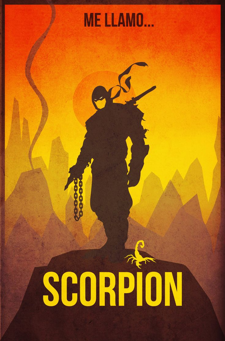 scorpion by ~albertoo on deviantART