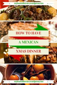 A Mexican Christmas Dinner Menu!
