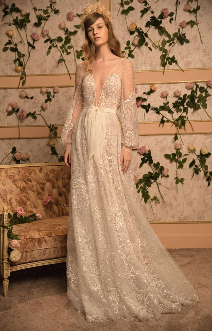 Dana Harel, lauded for her ornate and intricately detailed wedding gowns, is mak…