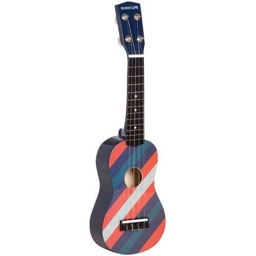 Sunnylife Ukulele  Brible Multi Stripe  54x14.5x5cm  Hardwood, MDF  $29.95
