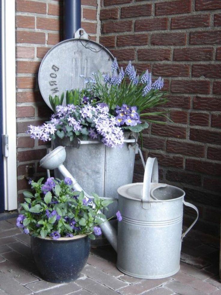 Vorgarten-Design im Vintage-Stil: 26 schicke Gartendekorationsideen
