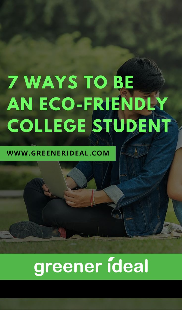 There are a few easy ways any college student can be more eco-friendly without having to make major changes to their lifestyles.