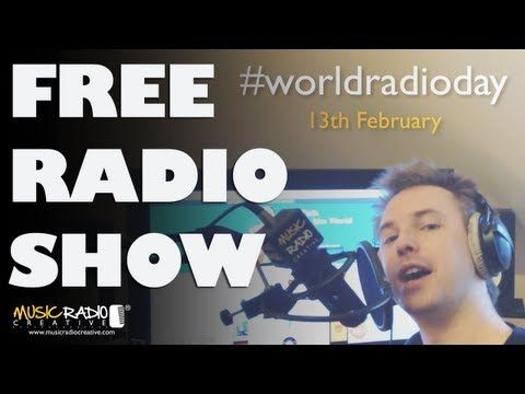It's World Radio Day. Why not start your own radio show?