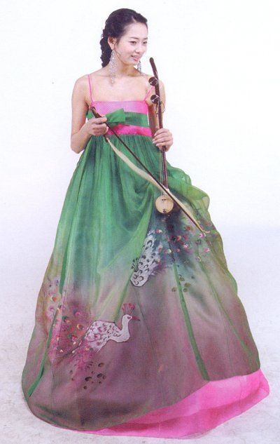 History of Beauty - Korean hanbok and its variations
