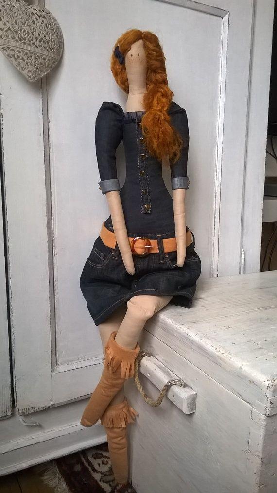 Tilda Tall Doll-Handmade-Tilda giant by LecreazionidiNadia on Etsy