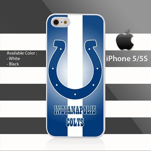 Indianapolis Colts Strips White iPhone 5 5s Case Cover