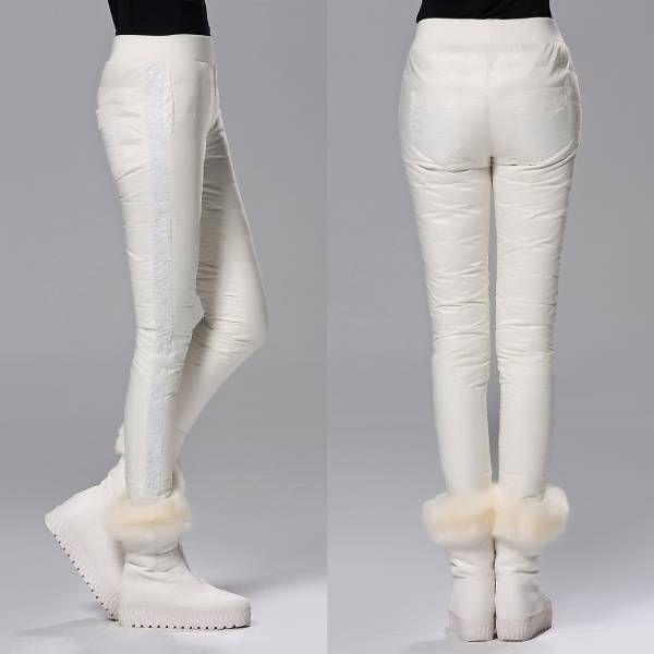 人気お洒落お出かけレディースファッショントレンドデザインカジュアル可愛い流行キレイ女性美ラインアウターダウンパンツスラックス Z53WH_画像2