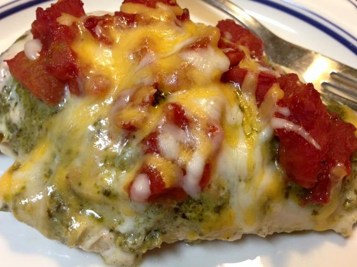 Healthy Pesto Ranch Baked Chicken -21 Day Fix Approved