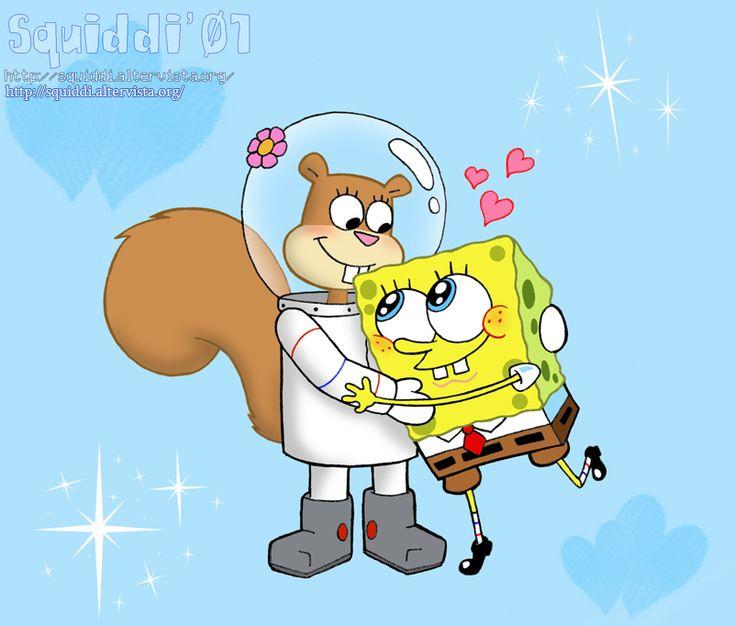 SpongeBob and Sandy by StePandy.deviantart.com on @DeviantArt
