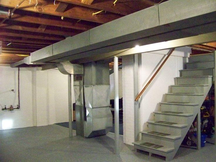 17 best images about basement ideas dad 39 s house on pinterest drywall basement finishing and - Unfinished basement design ...