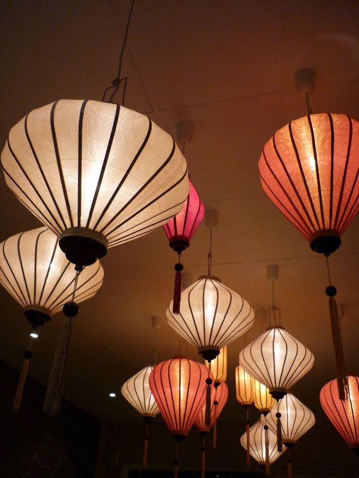 15 best Silk Lanterns images on Pinterest Paper lanterns Chinese