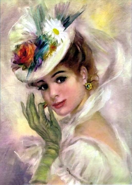 Lovely Victorian Lady