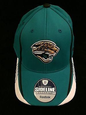 NFL Jacksonville Jaguars Adult Reebok L/XL Flex Fit Hat  www.mancavesonline.com