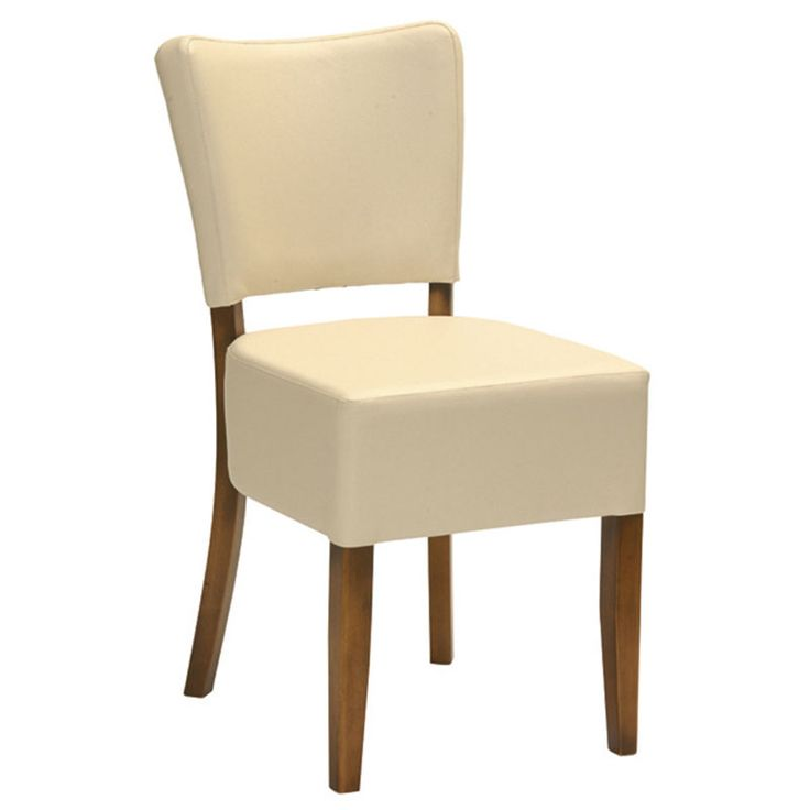 Como side chair deep with deep upholstered seat and back | Andy Thornton