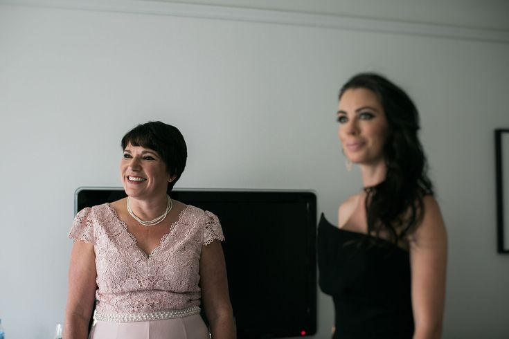 Mother of the bride, mother of the groom, same-sex wedding, gay wedding, bridesmaid.