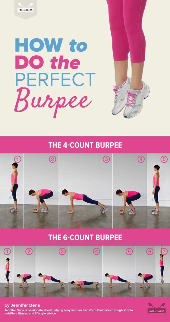 With so many different steps performed at a fast rate, burpees are very easy to do incorrectly. Here, we'll teach you how to do the perfect burpee — every single time. For the full exercise article, visit us here: http://paleo.co/perfectburpee