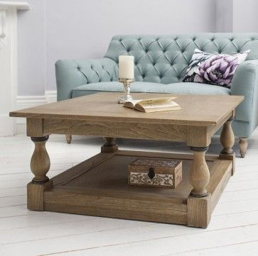 cotswold square coffee table