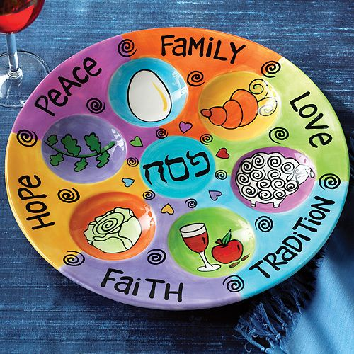 Here are seven Passover Seder plates that teach and entertain.