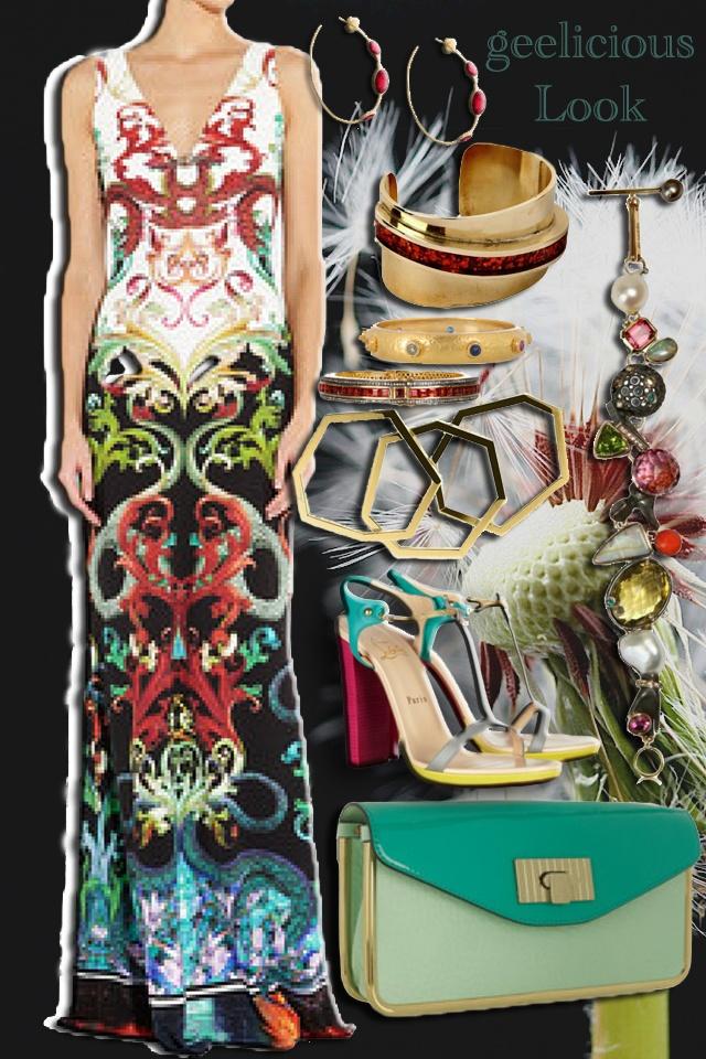 #blog:  http://geeliciouspassion.wordpress.com/2012/05/25/eurasian-snow/  #trend #look #style #fashion #ensemble #cavalli #louboutin #chloe #geelicious #accessories