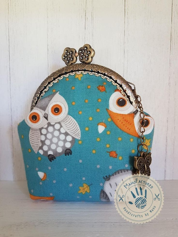 Doctor Owl purse, 8,5 cm by ManoFactured on Etsy
