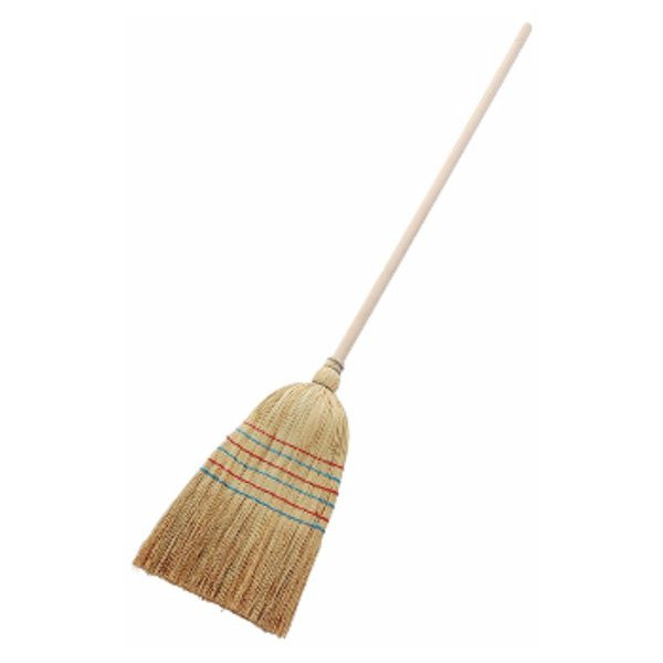 150cm Rice Straw Broom With Wooden Handle ($21) ❤ liked on Polyvore featuring home, home improvement and cleaning