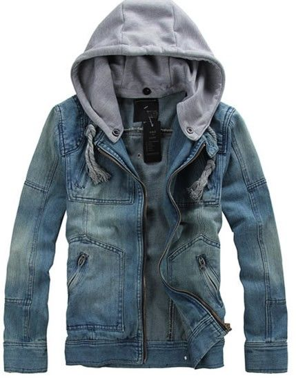 Autumn New Style In Vogue Jean Male Casual Jacket Long Sleeve M/L/XL @S0D13-1