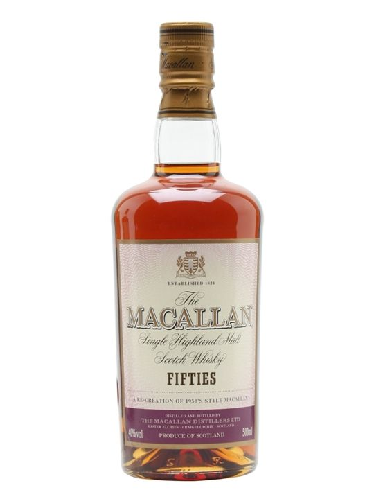 Macallan Travel Series 1950s Scotch Whisky : The Whisky Exchange