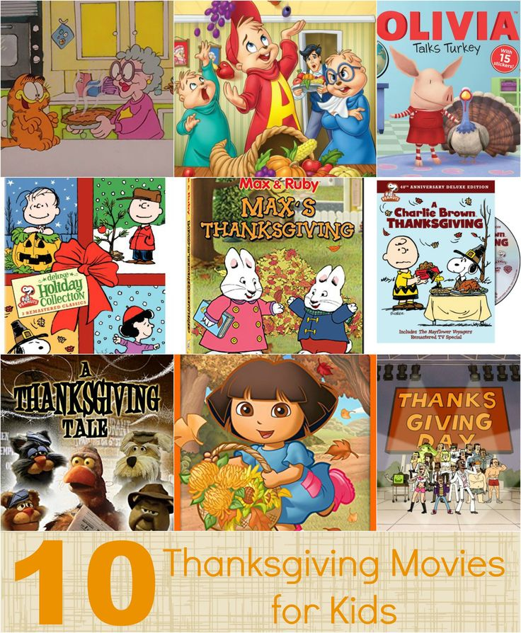 10 Thanksgiving movies for kids. It's a great way to help kids understand Thanksgiving and being thankful