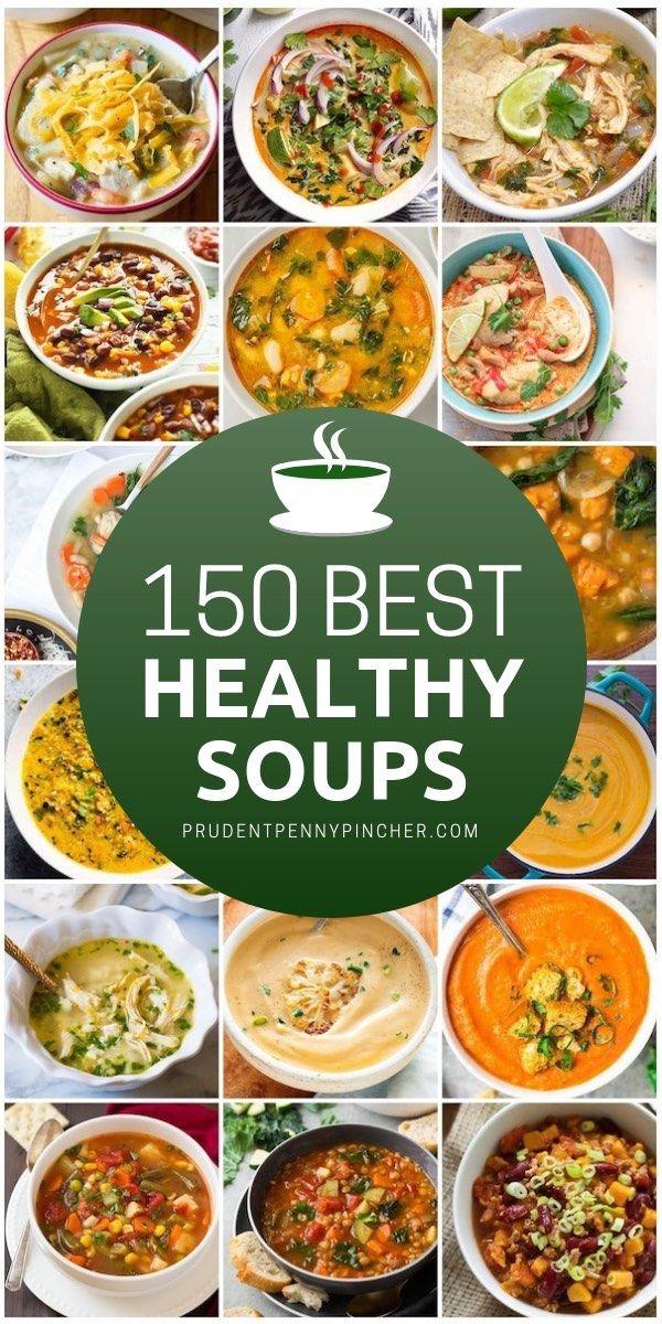150 Healthy Soup Recipes