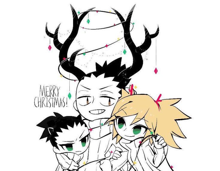 It isn't Christmas but I love this fan art! It's so cute!