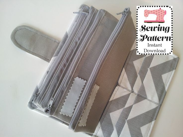 Wallet SEWING PATTERN PDF, Cash Envelope Wallet , Cash Budget System, Bifold Wallet, Woman Wallet
