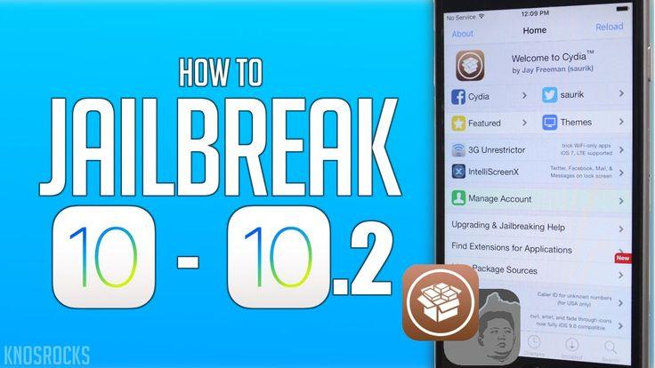How To Jailbreak iOS 10.2 iPhone 6S, 6S Plus, 6, 6 Plus, SE, 5S, iPad Pr...