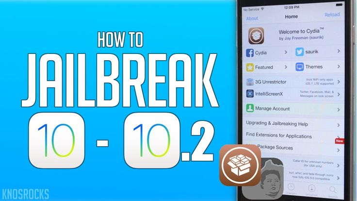 How To Jailbreak iOS 10.2 iPhone 6S, 6S Plus, 6, 6 Plus, SE, 5S, iPad Pr...