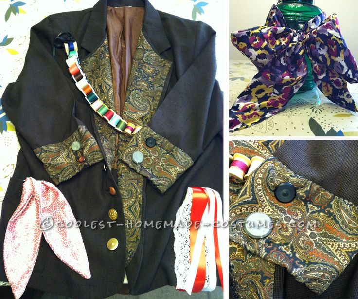 Mad Hatter Jacket, Cuff, and Scarf