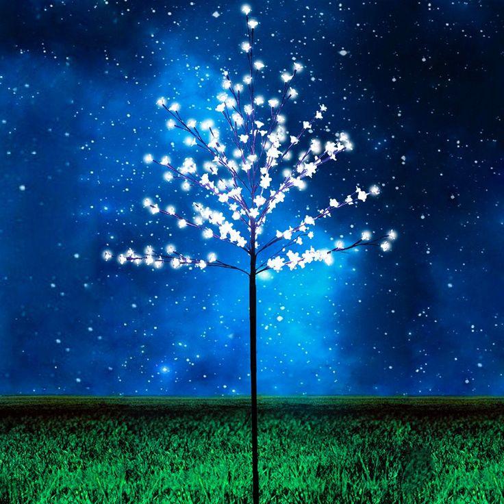 LED-Baum Garten Stehleuchte 180 cm / 200 LED warmweiss 45988