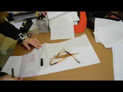 DIY: Como fazer recortes em blazer ou sobretudos e queda de ombro - Aula 73 - YouTube